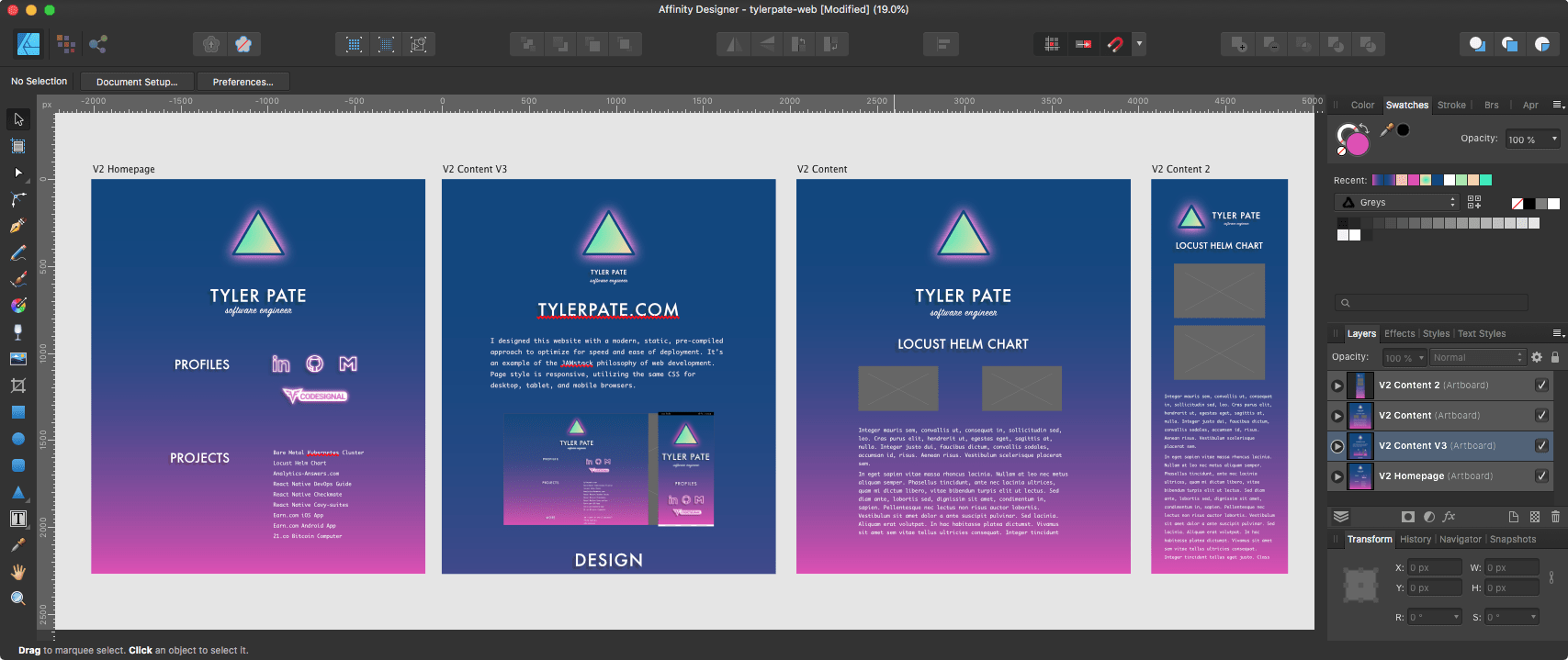 Affinity Designer Project